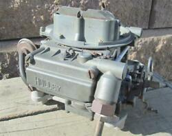 Oem Gm Holley Carb List 3814 1967 Corvette 327 300hp 350hp W/ Ca Smog Dated 724
