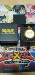Pocket Watch Yu-gi-oh Movie Production-only Super Rare Gold Nearly Unused 952/sk