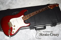 Fender Stratocaster And03981 The Strat Candy Apple Red/rose Neck Full Original