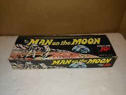 Vintage 1969 Topps Man On The Moon Trading Cards Retail Display Counter Box,exc.