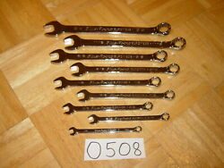 Blue-point Tools 9 Piece Sae. Combination Wrench Set 1/4 To 3/4