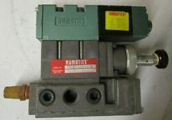 Numatics 152sa400k Valve With 120v Coil And 152rs1000016y Valve