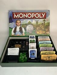The Wizard Of Oz Monopoly 75th Anniversary Pop Up Board Game Collect Ed Complete