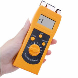 Digital Textile Moisture Tester Meter Lcd Display For Cotton Clothes Yarn Wool