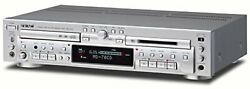 Teac Md-70cd-s Cd Player/md Recorder Silver Mini Disc/cd Combination Deck F/s