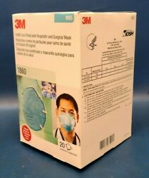 Expired Brand New 3m Box Of 20 N95 1860 Facemask Respirator And Surgical Mask.