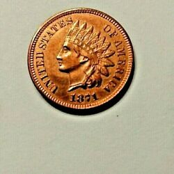 1871 Indian Head Uncirculated Ms Quality