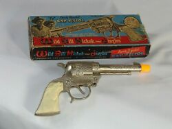 Vintage Wild Bill Hickock And Jingles Deputy Marshal 90toy Cap Gun In Box