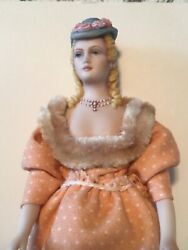 Sally Cutts Artist Doll House Lady Finely Sculpted Fine Details Rarest Art Doll