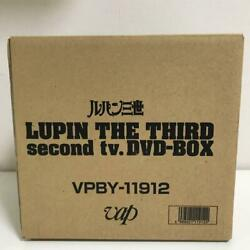Limited Production Lupin Iii Dvd-box Tv Anime Second Series 26 Disc Set