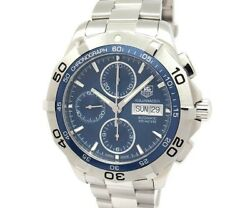 Green Shop Pawn Tag Heuer Aquaracer Chronograph Day-date Caf2012.ba0815
