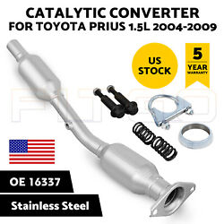 Catalytic Converter For 2004 2005 2006 2007 2008 2009 Toyota Prius 1.5l W/gasket