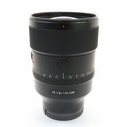 Sony Fe 135mm F/1.8 Gm Sel135f18gm For Sony E Mount 361
