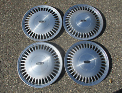Genuine 1989 Lincoln Town Car Continental Factory 15 Inch Hubcaps Wheel Covers