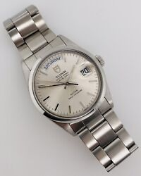 Tudor Oyster Day-date 36mm Silver Dial Automatic Stainless Steel 94500
