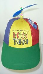 I Am Not Old I'm A Recycled Teenager Funny Cap Hat With Spinning Top Vintage