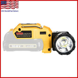 Handheld Led Work Light Dcl510 Replacement For Dewalt12v Max Lithium Ion Battery