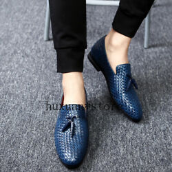 Men Shoes Korean Version Trend Peas Fashion New Soft Bottom Casual Leather Lazy