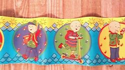 Caillou Wall Border Roll Peel And Stick Border Nursery Stick Ups