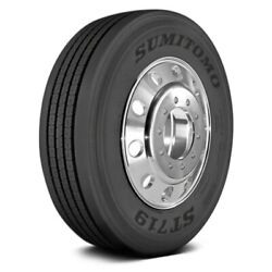 Sumitomo Set Of 4 Tires 275/70r22.5 M St719 All Season / Commercial Hd
