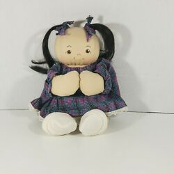 Jan Shackelford Asian Baby Doll 11 Baby Cloth Stamped Signed. See Photos