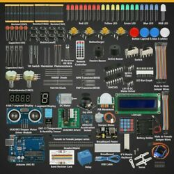 Professional Starter Learning Kit For Arduino Uno R3 Servo Processing Components
