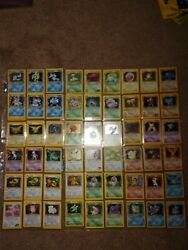 54 Rare Holographic Pokemon Cards7 First Edition Cards