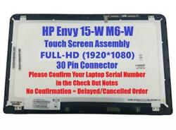 15.6led Lcd Touch Screen Assembly Nv156fhm-n41 F Hp Envy M6-w -w102dx 105dx Fhd
