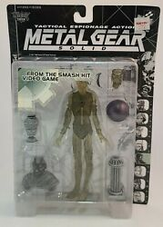 Metal Gear Solid Psycho Mantis Clear Figure Mcfarlane Toys Unopened
