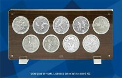 Tokyo 2020 Olympic Official Licensed Coins 1000 Yen Commemorative Set Of 9