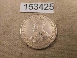 1916 H British West Africa 2 Shillings Collector Grade Raw Album Coin - 153425