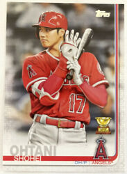 Shohei Ohtani 2019 Topps Series1 Image Variation Ssp Angels Gold Rookie Cup 250