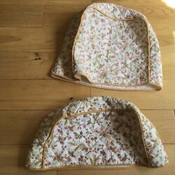 Vintage Toaster And Mixer Cover St Michael Kitchen 100 Cotton Floral Cottage Core