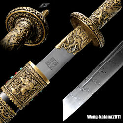 Masterpieces Kangxi康熙 Chinese Emperor Broadsword Antique Sword Collectibles 赵沛炎