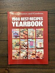 Vintage 1988 Better Homes And Gardens Best-recipes Yearbook Cookbook - Like New