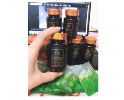 X4 Boxes Godetox Herbal Weight Loss Capsules - Exp Date 2022