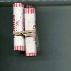 2013 P Lincoln Head Penny 5 Bank Roll Paper Wrapped Lot 2997p