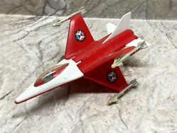 Vintage Processed Plastic X-wing Fighter Jet Toy Airplane