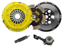 Act Race 6 Pad Sprung Clutch Plate Flywheel Kit For 2013-16 Ford Focus St Turbo