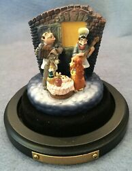 Disneyana 1998 Goebel Miniature Bella Notte Lady And The Tramp Signed 500 Of 500