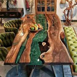 Epoxy Conference Table Top Sofa Center Dining Table Furniture Deco Made To Order