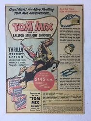 1948 Ralston Cereal Tom Mix Mutual Radio Show Premiums Adid Bracelet,ring,spurs