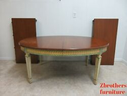 Antique Baker Furniture French Regency Dining Room Table Banquet Conference