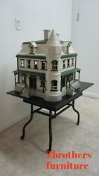Antique Model Doll House Grover Cleveland Summer Home