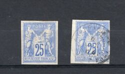 France Colonies, Yv 35, Mh, Yv 35a, Used, Rare