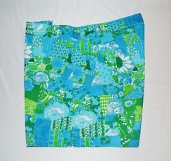 Vtg 60s New Nos Lilly Pulitzer Mens Stuff Lion Swimming Trunks Lined Xl/42 Rare