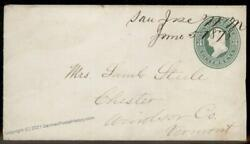 Usa 1878 New Mexico Territory Manuscript One Of Two Cover Contents 92595