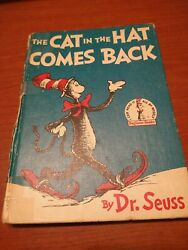 1958 1st Ed The Cat In The Hat Comes Back