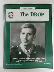 Green Beret The Drop Magazine Fall 2000 Issue Special Forces Association