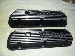 1961-1969 Falcon 289 260 351w 302 Powered By Ford Aluminum Finned Valve Covers